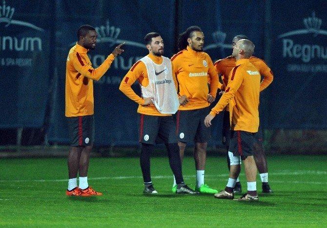 Galatasaray İdmanında Gerginlik