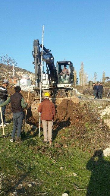 Maski'den 95 Mahalleye Kanalizasyon Müjdesi