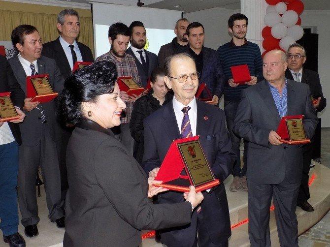 """Kırklareli Gazeteciler Cemiyeti'nin """"2015 Yılı Basın Ödül Yarışması"""" Sonuçlandı"""