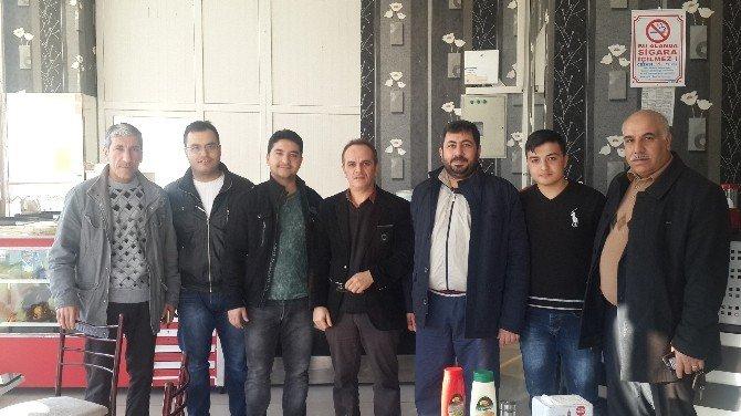 Birecik Gazetecileri Gazeteciler Günü'nde Bir Araya Geldi