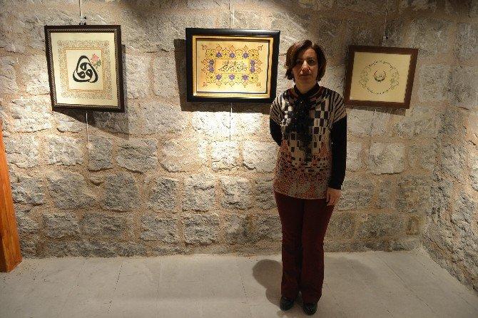 Hemşire Yıldız'dan Tezhip Sanatı Sergisi
