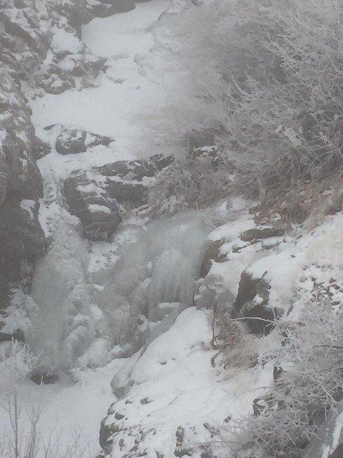 Dondurucu Hava İlçeyi Susuz Bıraktı