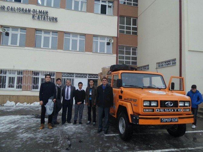 Öğrencilerden Bayırbucak Türkmenleri'ne Yardım