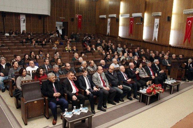 Duayen Gazeteci Oktay Ekşi, Çalışan Gazeteciler Günü'nde Tekirdağ'da