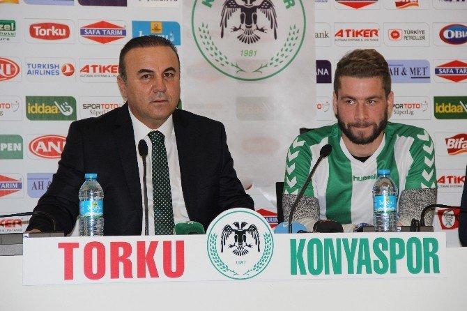 Nejc Skubıc, Torku Konyaspor'a İmzayı Attı