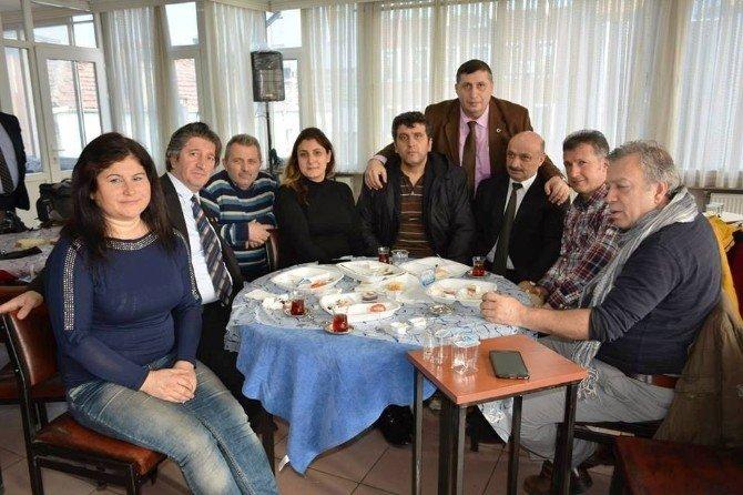 Trabzon Kültür Ve Yardımlaşma Derneğinden Basına Kahvaltı