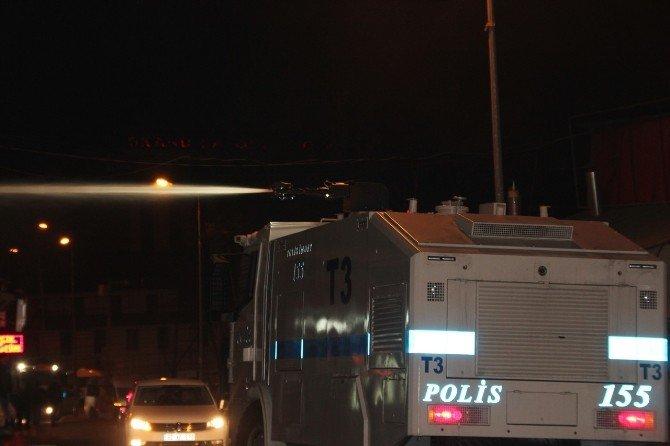 Tunceli'de Eylemcilere Polisten Müdahale
