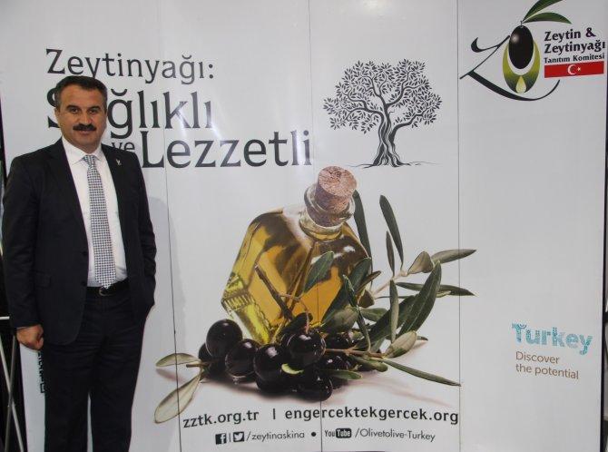 ZZTK bu yıl dokuz ülkede Türk zeytin ve zeytinyağını tanıtacak