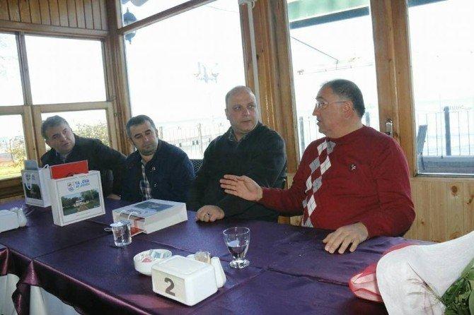 Belediye Başkanı Salman Şehit Aileleri Ve Gazilerle Buluştu