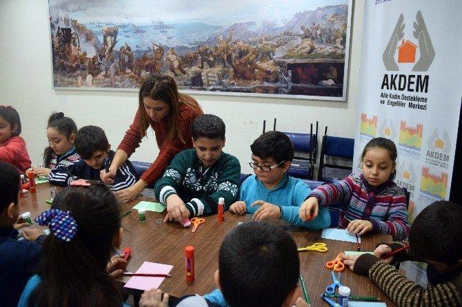 Çocuklar Drama Yöntemiyle Mahremiyeti Öğreniyor