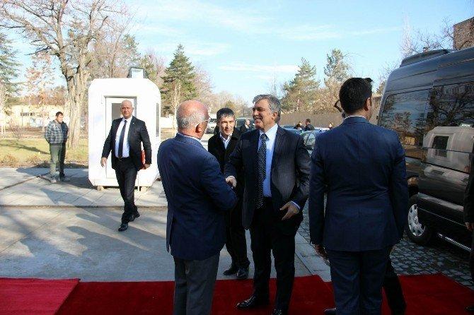 11. Cumhurbaşkanı Abdullah Gül Memleketi Kayseri'de