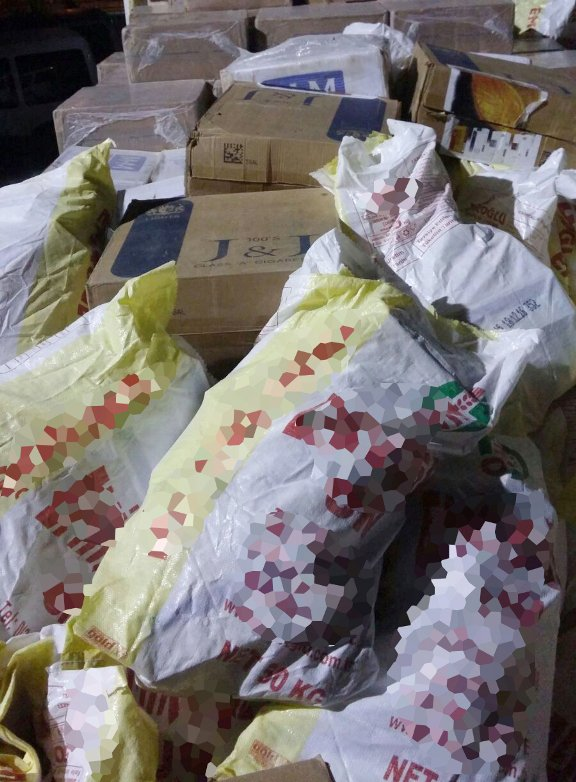 Yolcu otobüsünde 68 bin paket kaçak sigara ele geçirildi