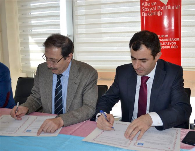 Aile eğitim protokolü imzalandı