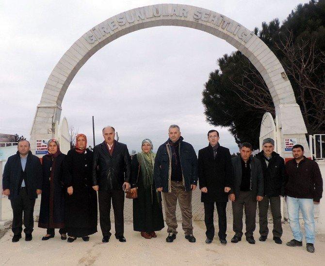Giresunlu Milletvekilleri, Giresunlular Şehitliği'ni Ziyaret Etti