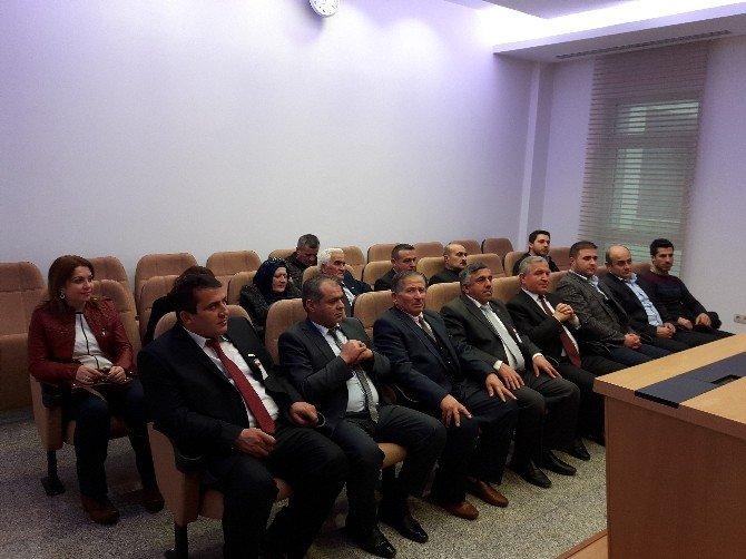 AK Parti Karabük Merkez İlçe Teşkilatı'ndan Uysal'a Ziyaret