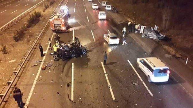 Başkent'te Feci Trafik Kazası: 3 Ölü