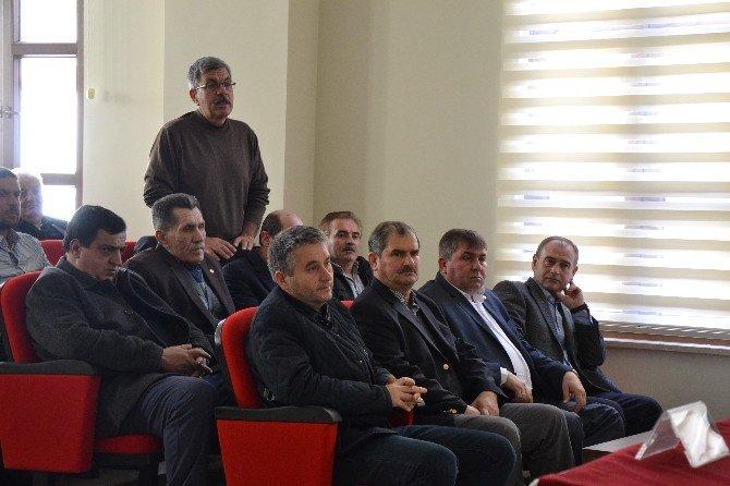 Biga'da Köylere Hizmet Götürme Birliği Toplantısı Yapıldı