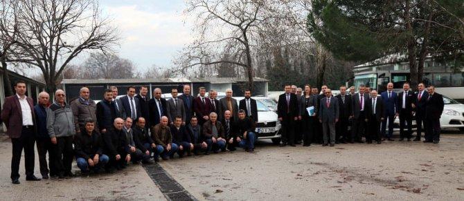 Bursa Gıda Tarım ve Hayvancılık Müdürlüğü'ne 65 yeni araç