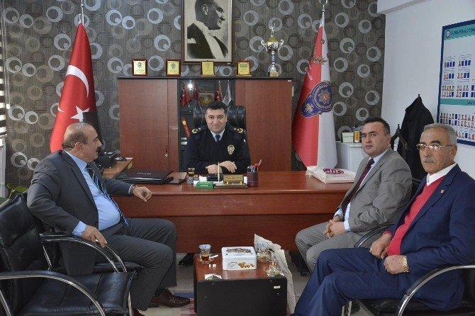 CHP Heyetinden Emniyete Ziyaret
