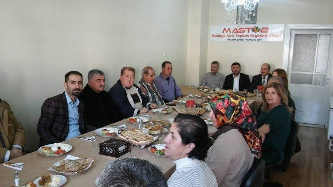 CHP'li Ağbaba'dan Mastöb'e Ziyaret