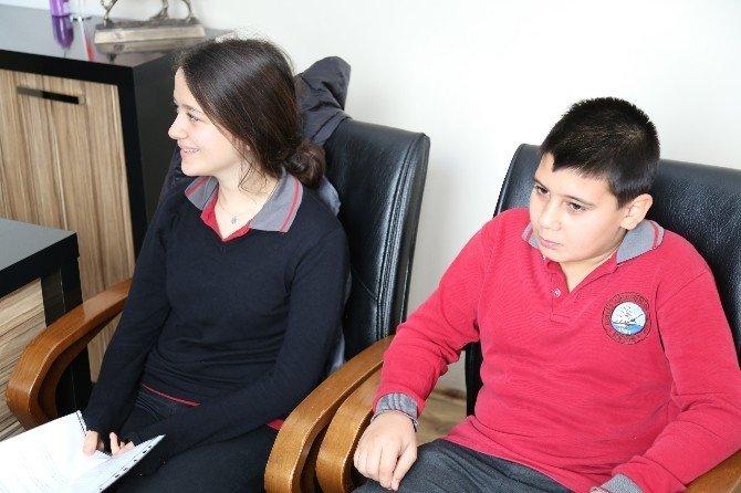 Öğrenciler Çevre Koruma Ve Kontrol Hakkında Bilgi Aldı