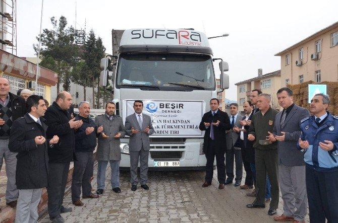 Durağan'dan Türkmenlere Yardım