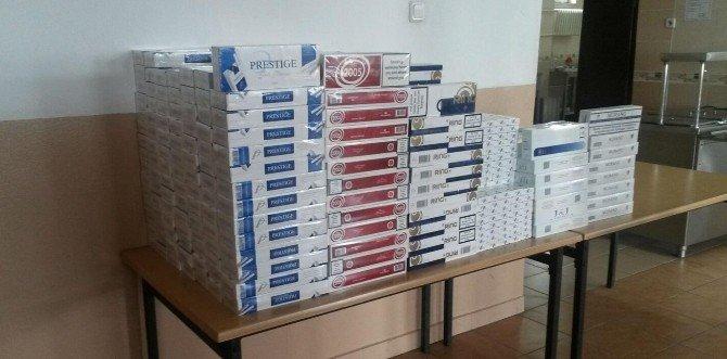 Edirne'de 5 Bin 270 Paket Kaçak Sigara Ele Geçirildi