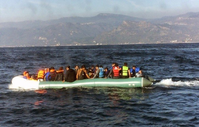 Bir Haftada 33 Kaçak Mülteci Boğularak Öldü