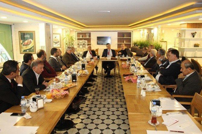 Eski CHP İl Başkanları Buluştu