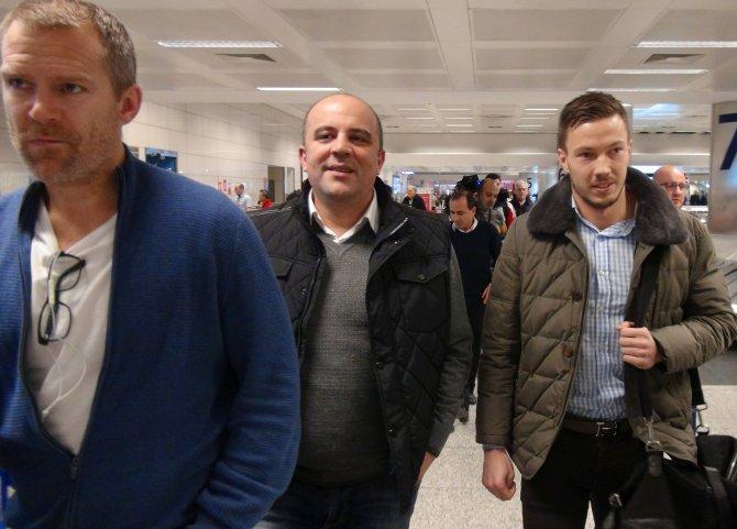 Galatasaray yeni transferi Martin Linnes İstanbul'da