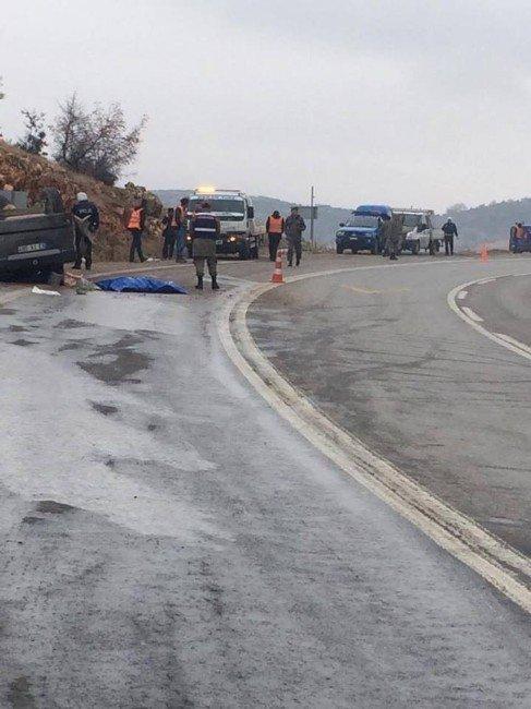 Gaziantep'te Trafik Kazası: 1 Ölü, 4 Yaralı