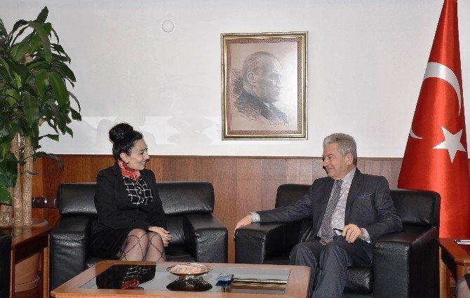 KKTC Konsolosu Emin'den Demirtaş'a Ziyaret