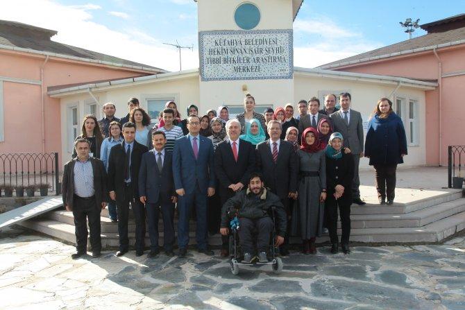 Belediye Başkanı Saraçoğlu'ndan kursiyerlere ziyaret