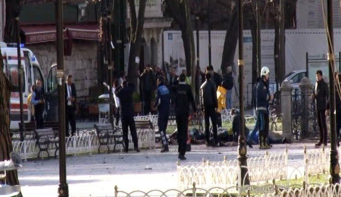 İstanbul Sultanahmet'te Patlama