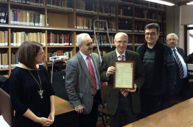Prof. Dr. Fethi Gedikli'ye Doğum Günü Sürprizi