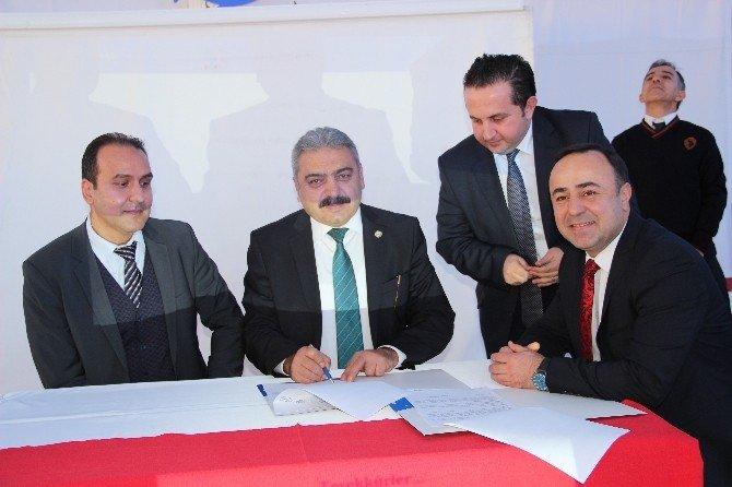 """Ziraat Odası İle Türkiye İş Bankası Arasında """"İmece Kart"""" Protokolü İmzalandı"""