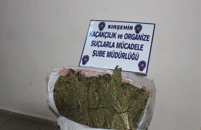 Kırşehir'de 10 kilo esrar ele geçirildi