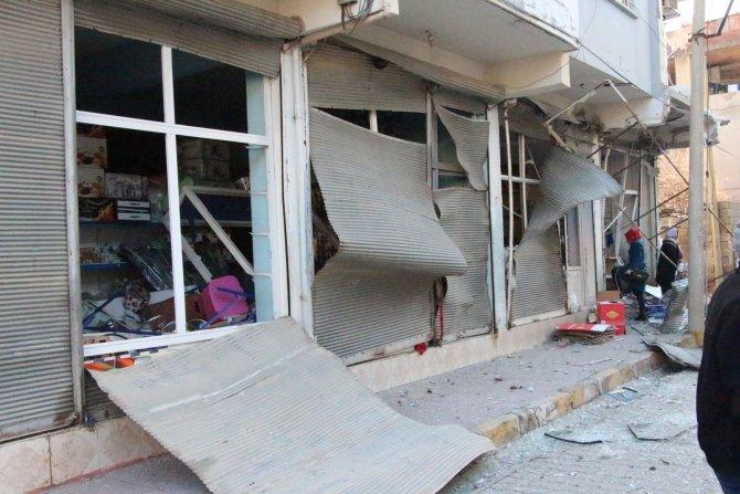Nusaybin'de zırhlı polis aracının geçişi sırasında patlama