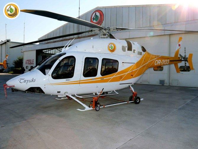 Şehitlerin isimleri yangın söndürme helikopterlerine verildi