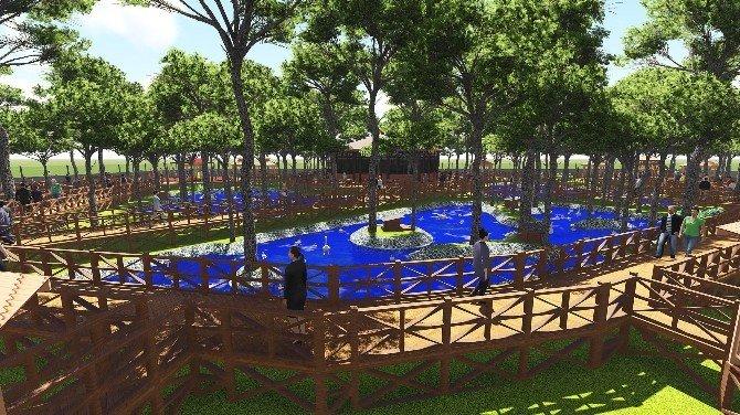 Osmancık Belediyesi'nden Park Projesi