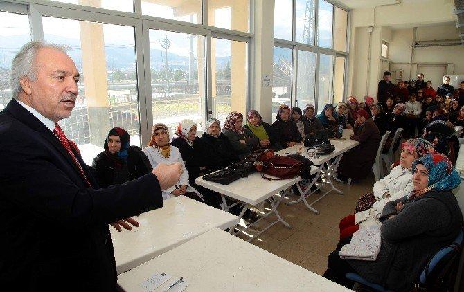 Belediye Başkanı Kamil Saraçoğlu Kişgem'i Ziyaret Etti