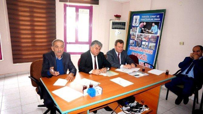 Ziraat Odaları İl Koordinasyon Toplantısı Sarıgöl'de Yapıldı