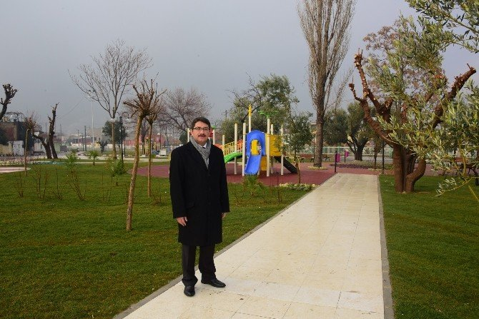 Nurlupınar Yeni Parkına Kavuştu