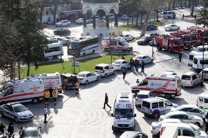 Sultanahmet'te Yoğun Güvenlik Önlemleri