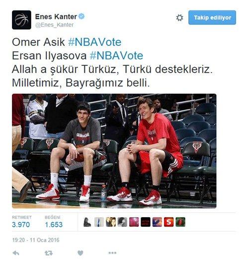 TBF CEO'su Türkoğlu'nun NBA All-Star tweeti tepki çekti