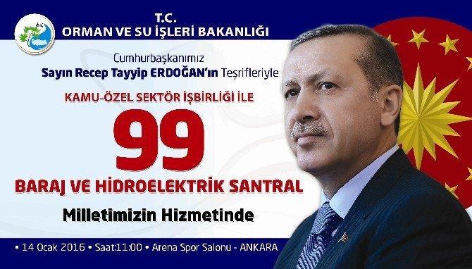 Cumhurbaşkanı Erdoğan'ın Hizmete Açacağı 99 Hes'ten 4'ü Tokat'ta