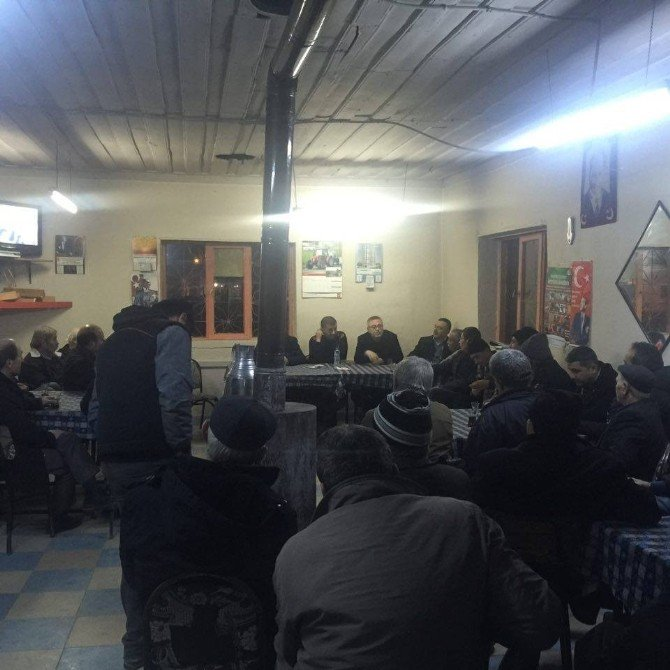 """CHP İl Başkanı Karaoba: """"Uşak'a Bağlanan Köylerde Referandum Yapılsın"""""""
