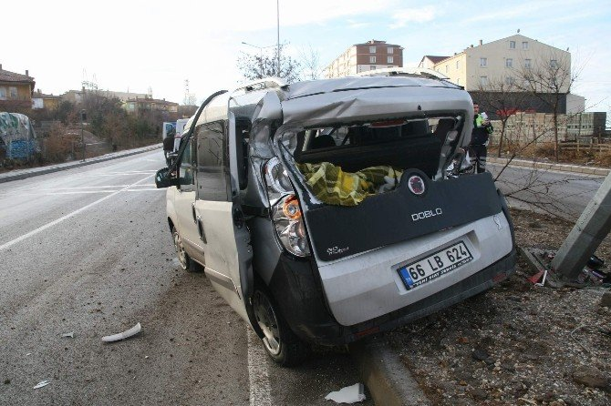 Yozgat'ta Buzlanma Kazalara Sebep Oldu