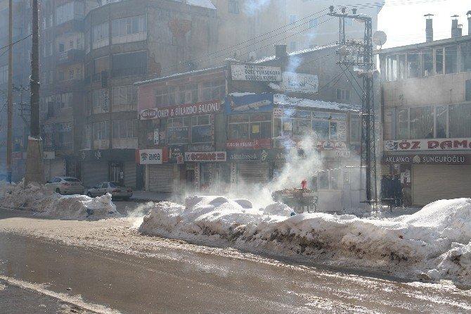 Yüksekova'da Kaza Gerginliği