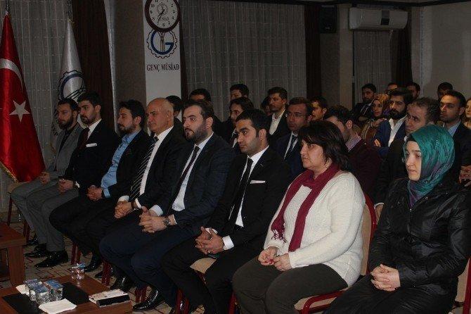 Genç MÜSİAD Gaziantep Şubesine Ziyaret